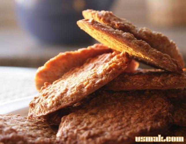 Рецепт Овсяное печенье, завтрак с Юлией Высоцкой фото