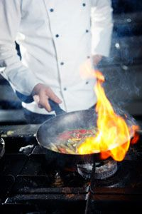 15 Cooking Tips from Restaurant Chefs. A list of some of their secrets that will benefit any home cook.