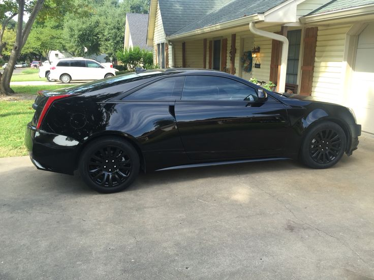 My coupe is now all black. Next is lowering