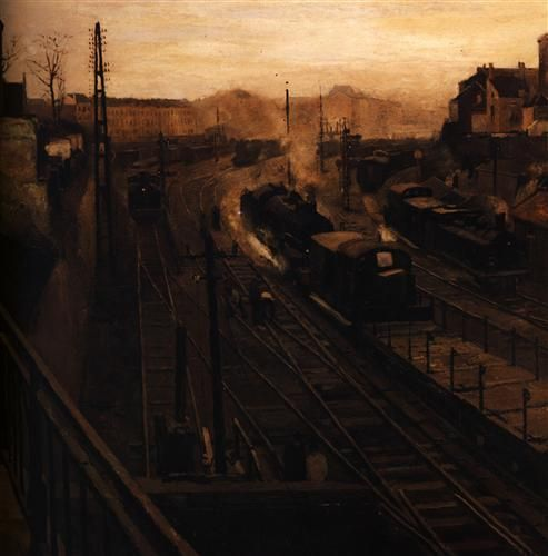 For the Brussels Luxembourg Station - Paul Delvaux