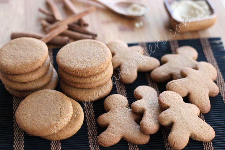 Zencefilli ve tarçınlı kurabiye