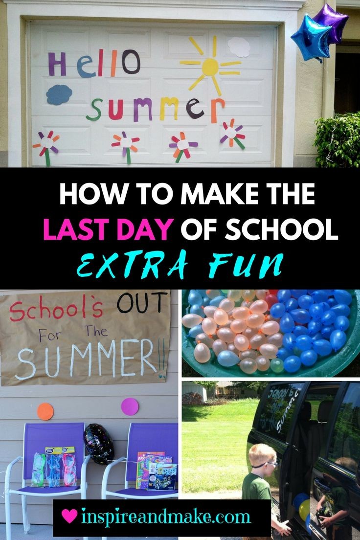 Are you searching for ways to make the last day of school extra fun and special? Check out these fun ways to create a special memory for your children.