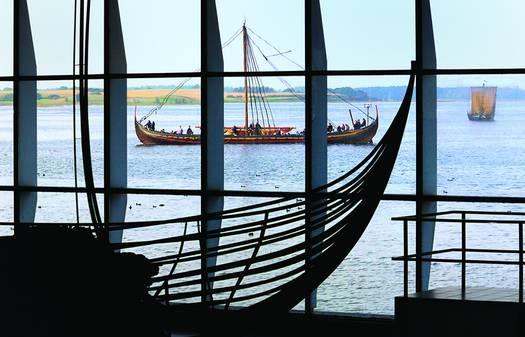 Visite du musée des viking - Vikingeskibsmuseet Roskilde