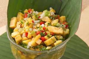 Cocina Costarricense, Ceviche de Banano Verde