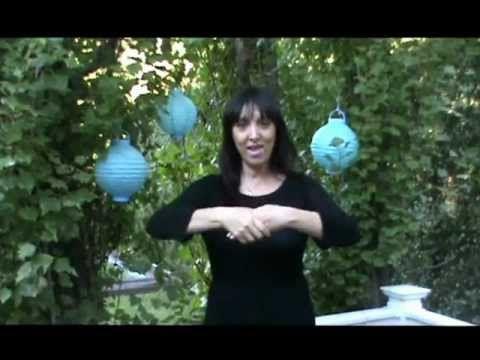 Himno Nacional Argentino con señas ~ Muchi Pérez ◘ ♫ ♪ ♫ VideoClip▶