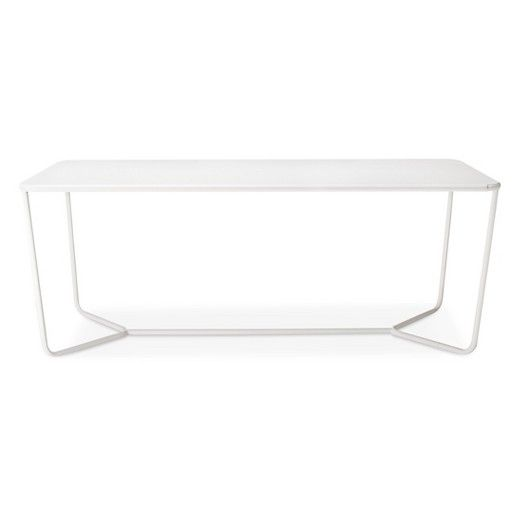 Rectangle Dining Table White   Modern By Dwell Magazine