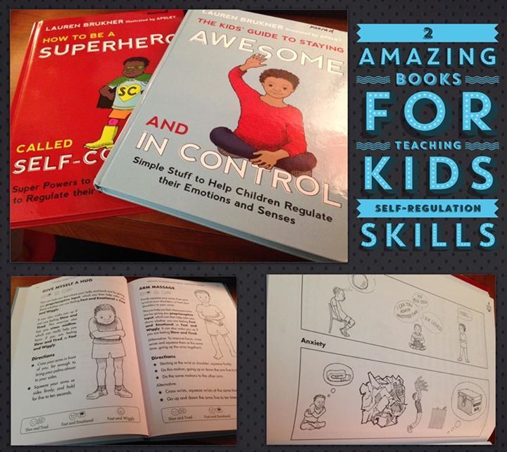 I absolutely LOVE both of these books! Great for teaching kids self-regulation skills: http://on.fb.me/1mWznvG #SocialEmotionalLearning #SelfRegulation #Autism #SensoryProcessingDisorder #SLPblogger