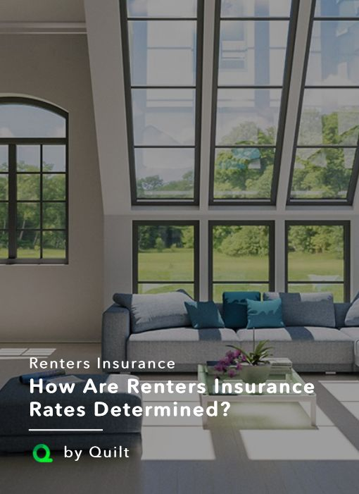 How Are Renters Insurance Rates Determined? | Quilt At Quilt, the median renters insurance policy is $13 a month. Of course that's the median, so some policies cost less and some cost more. Here's why. #insurancecost #savemoney #moneytips #financialtips #tipsmoney #moneymanagment #apartment #renting #apartmentgoals #getquilt #quiltlife #insurancerates