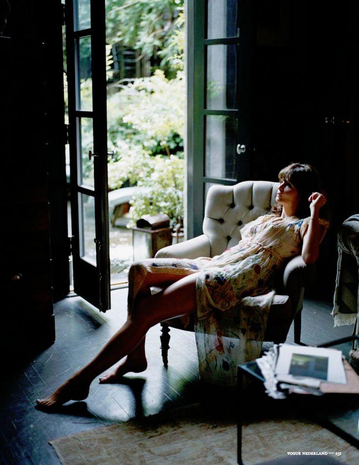 Helena Christensen by Annke Menke for Vogue Nederland September 2013