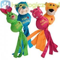 KONG Wubba Ballistic Friend Small - piszcząca zabawka dla psa do szarpania i aportowania