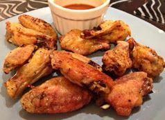 Oven Baked Season Chicken Wings