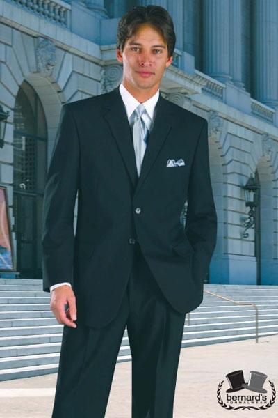 -the Catalina 2 button black #suit  www.bernardsformalwear.com