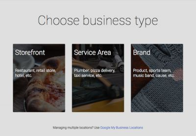 Verify Your Website on Google Maps for Business Your Business Choices