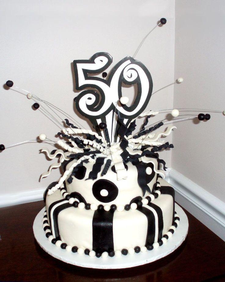 50th Birthday Cake Cool Cakes Pinterest Birthday