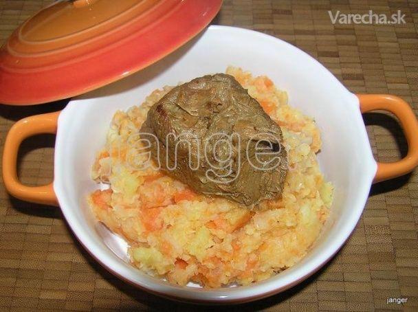 Holandský hutspot, mrkva-zemiaky-cibuľa (fotorecept) - Recept