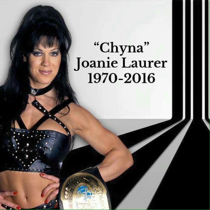 "Joanie ""Chyna"" Laurer was born on December 27, 1970 and she died on April 21,2016 at 45 years old"