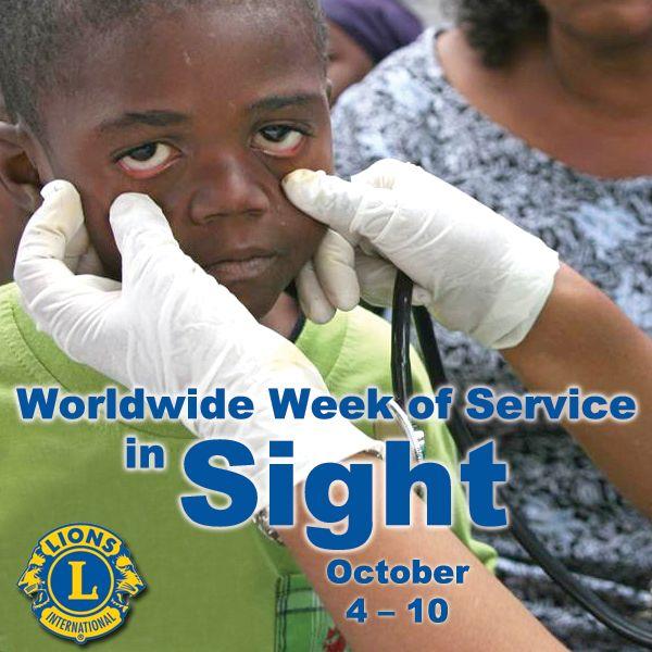 Worldwide Week of Service in Sight - October 4-10, 2015