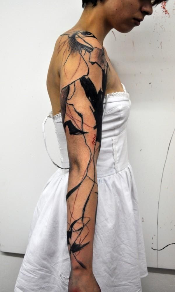 40 Mind Blow Abstract Tattoos | Cuded