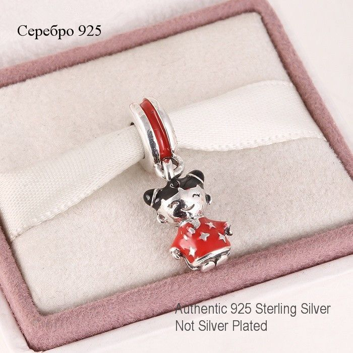 Fits  Europe Charms Bracelet  Sterling Silver Enamel Dangle Bead Chinese Doll Charm DIY Jewelry Findings Free Shipping