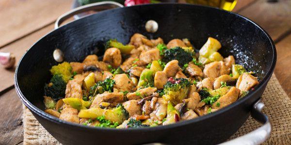 Stir-Fry Chicken + Mushroom