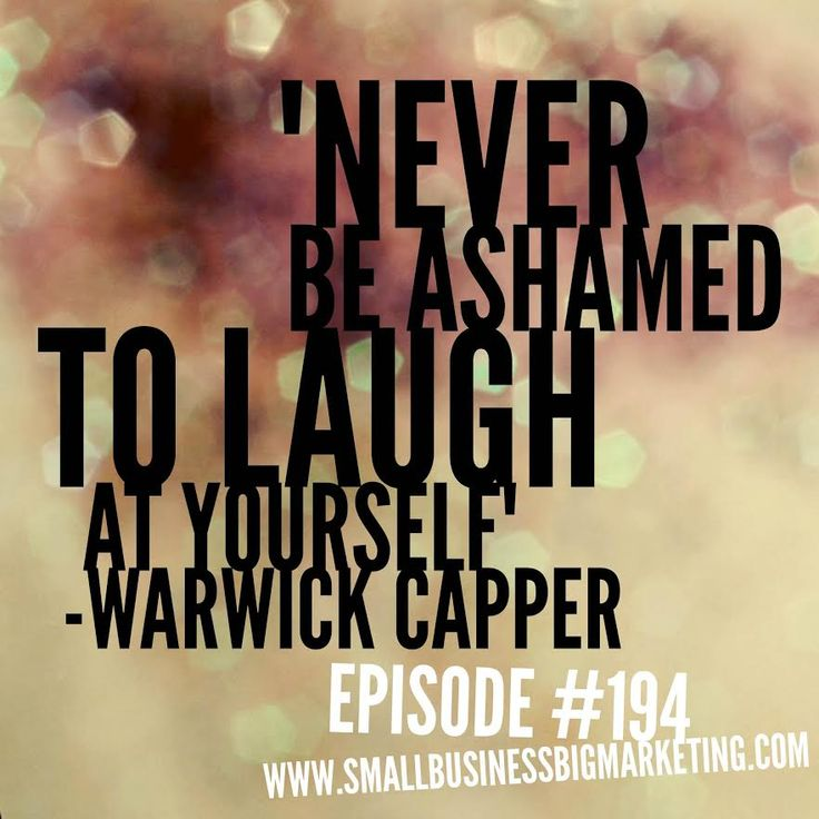 Never, ever! Podcast Interview with the man, the legend, Warwick Capper! Episode #194 – AFL legend Warwick Capper talks business. No, seriously! - See more at: http://smallbusinessbigmarketing.com/marketing-podcast-194/#sthash.h1bo6kjF.dpuf