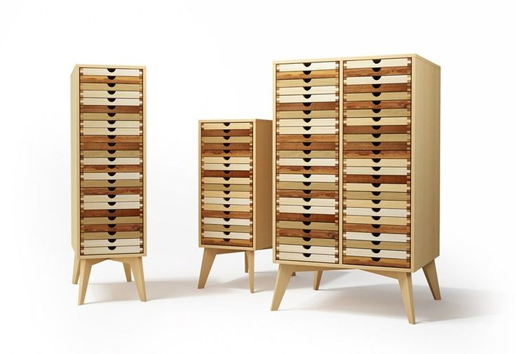 SIXtematic chest of drawers2 by sixay furniture design László Szikszai