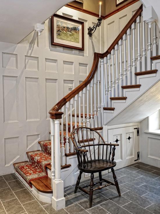 Farmhouse Staircase By Archer Buchanan Architecture Ltd