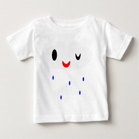 Rain Wink Baby T-Shirt - tap, personalize, buy right now!
