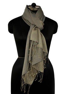 Cashmere Silk Scarf - LILAC WINE by VIDA VIDA isJC6