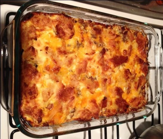 Low carb Bacon Cheeseburger Bake that'll blow yer freakin marbles to bits.