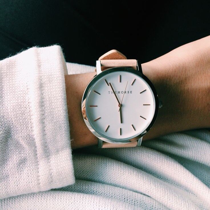 silver minimal minimalist jewelry simple nude watch cream tan the horse