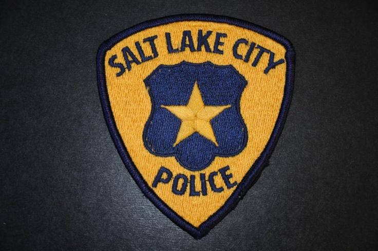 Salt Lake City Police Patch, Salt Lake County, Utah ...