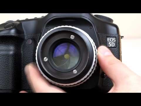 Canon EOS 550D - Diyafram ve Alan Derinligi - YouTube