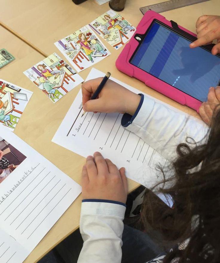 Varför sekvensbilder? (Inlägget finns också på Lärarnas Riksförbund då jag bloggar som #ämnesspanare för LR) Ett omtycktinslag för att träna den narrativa förmågan i elevernas språkutvecklingär a…