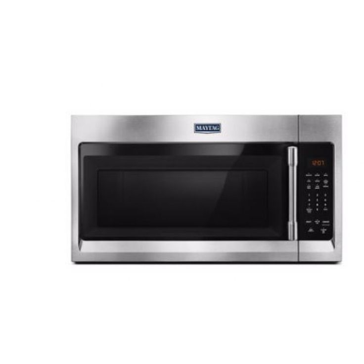 Maytag Compact Over The Range Microwave Fingerprint Resistant Stainless Steel Mmv1174fz
