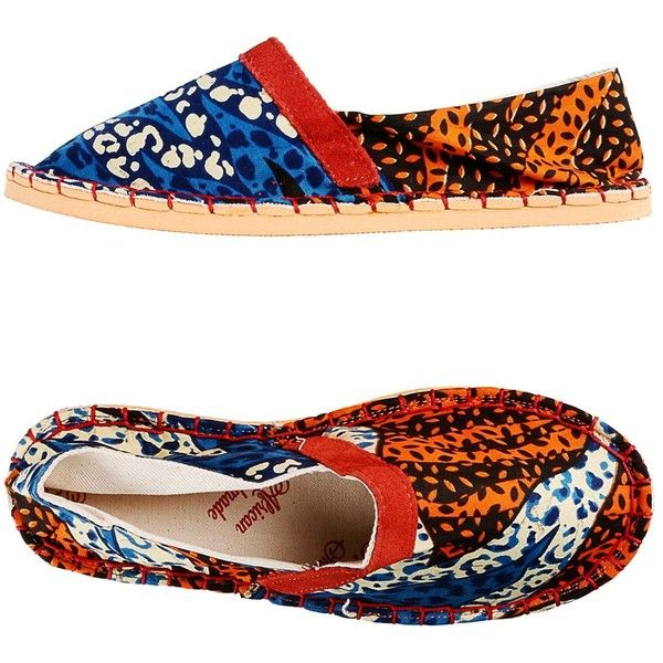 African Handmade Shoes Espadrilles ($85) ❤ liked on Polyvore featuring shoes, sandals and rust