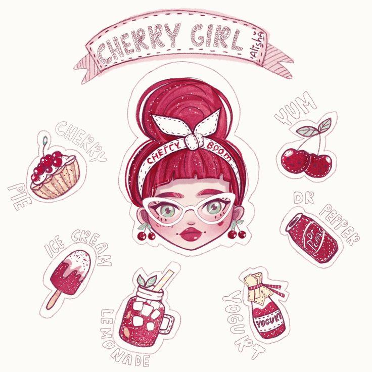Character Design Illustration~ By Alisha