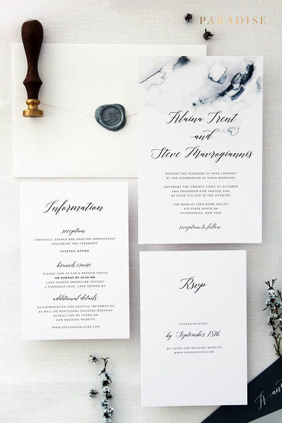 Royal Wedding Invitation Sets Invitation Kit Invitations Printable