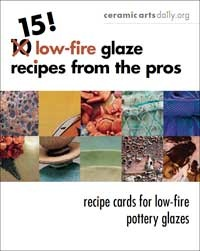 Ceramic Arts Daily – 10 Tried and True Low Fire Glaze Recipes: Recipe Cards for our Favorite Low Fire Ceramic Glazes