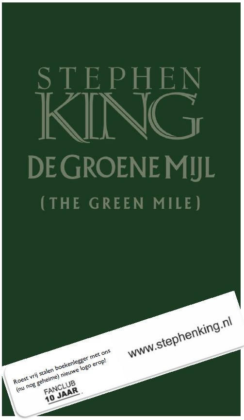 The Green Mile Dutch Limited Edition 300 Copies For The