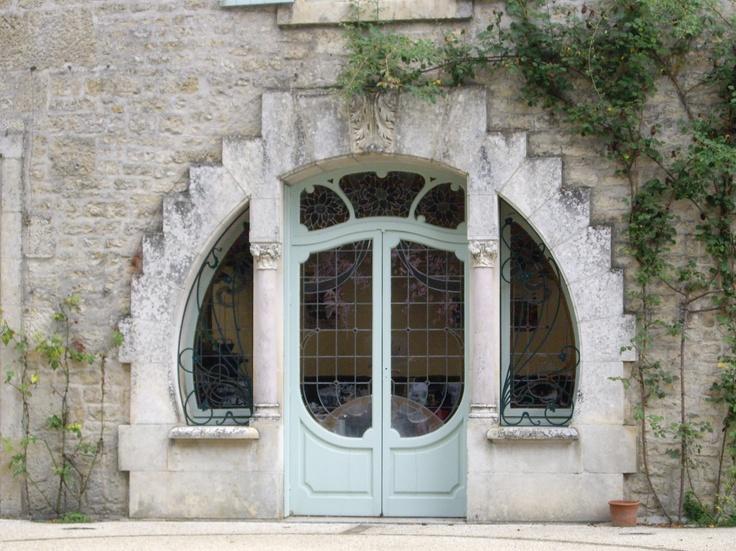 Mayor's Parlour in Melle, Deux-Sevres, France.