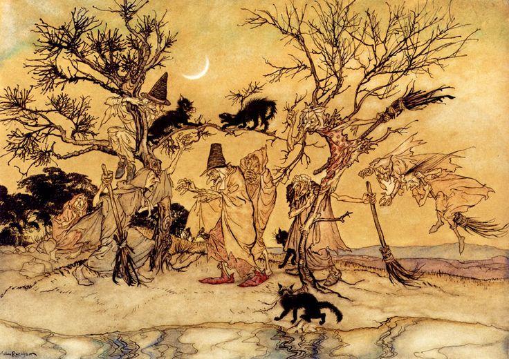 The Witches Sabbath by Arthur Rackham