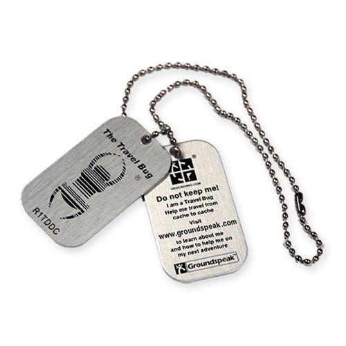 Geocaching Travel Bug Tag