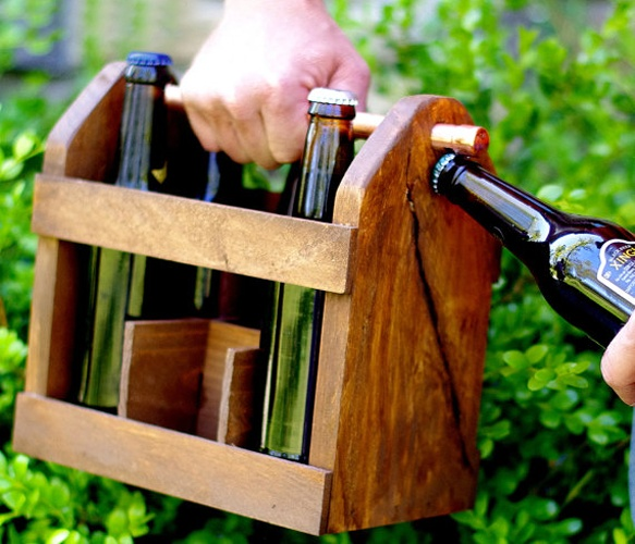 Perfect Thing for a Picnic!!! Beer Bottle - Home Brew Six Pack
