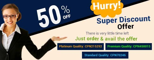 Get Discount of 50% for Your Assignment Work ☛ CPN708920