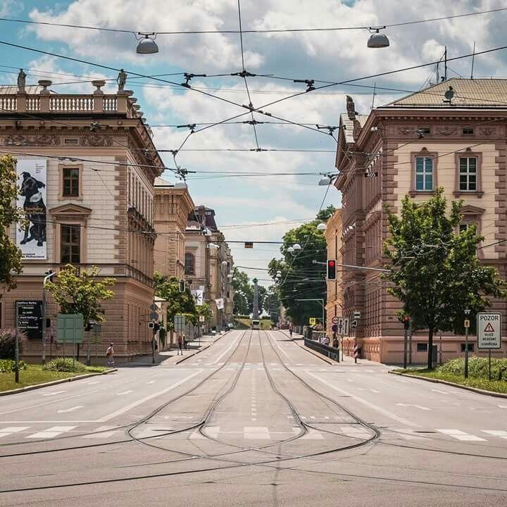 Husova ulice - Brno