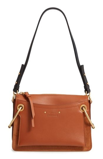 Chloé Small Roy Leather Shoulder Bag  6ebc79a613