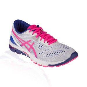 Asics - Gel Excel 33 3 Running Shoe - White/Hot Pink/Blue