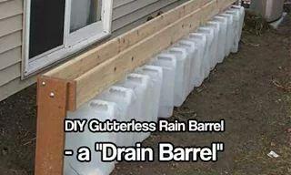 Drain Barrel