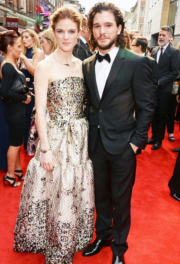 Kit Harington gushed about the moment he fell in love with former 'Game of Thrones' costar Rose Leslie — read his sweet quotes